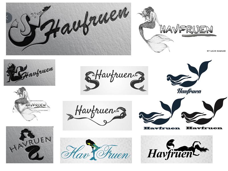 forslag til forskjellige logoer