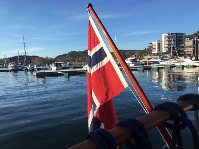 1. Mai i båten