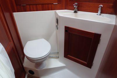 Nytt toalett på plass