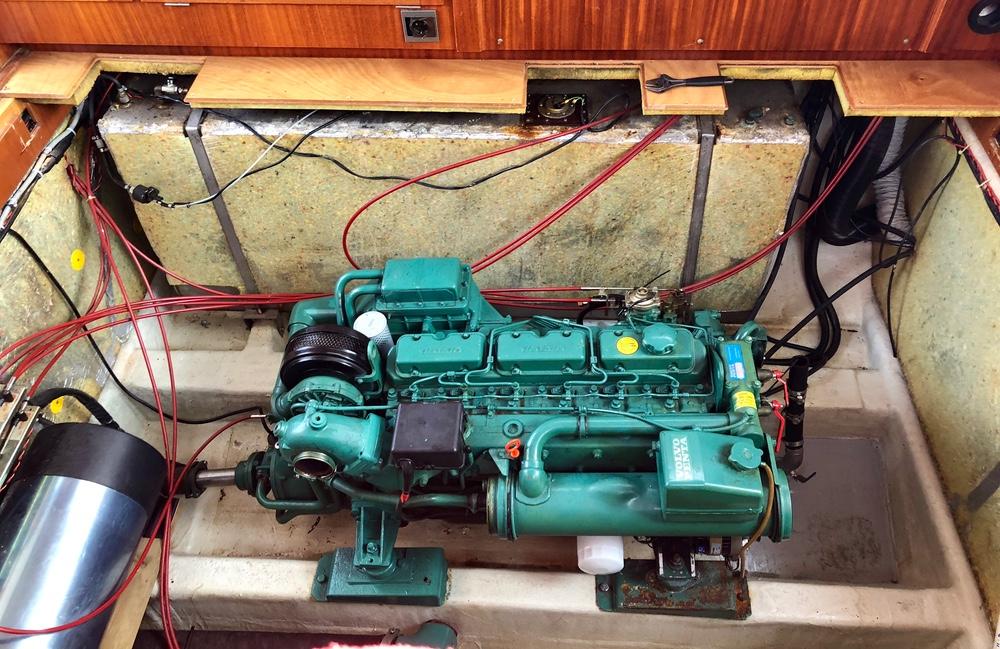 Reparasjon av dieseltank
